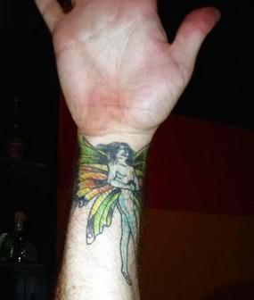 Wrist Awesome Fairy Tattoo