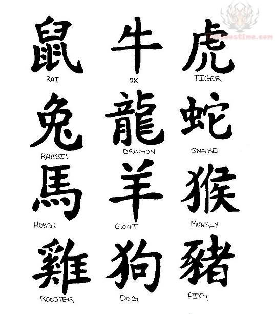 Chinese Symbols And Meanings Tattoo Sample Similar Posts