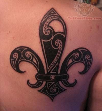 fleur de lis tattoo designs tattoo designs. Black Bedroom Furniture Sets. Home Design Ideas