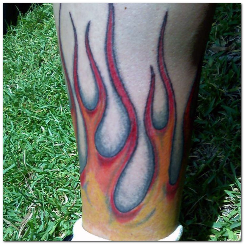Fire and flame tattoo designs