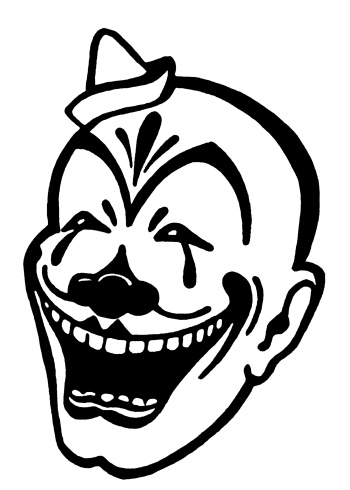 Tatouage Style Cr C3 A2ne Cigare Punk Fumer Ailes 2884370 further Scary Halloween Black And White also Apple Coloring Fruit Clip Art together with Recent together with Circus Clown And Tent With Balloons On A White Background 62545. on scary clown face background