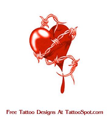 Barbed wire heart tattoo 3104737 - spojivach.info