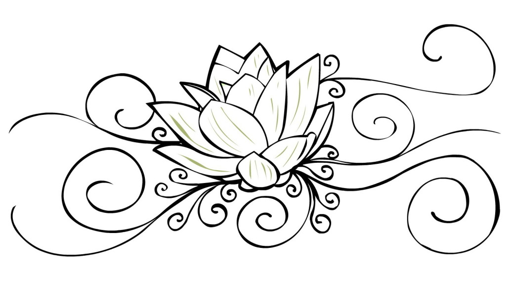 Gallery For gt Henna Lotus Flower Designs
