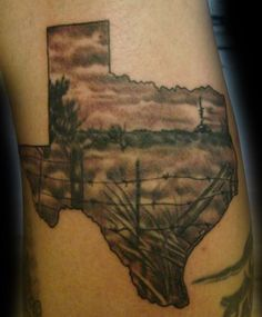 Texas Tattoo Images & Designs
