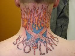 Fire & Flame Tattoos